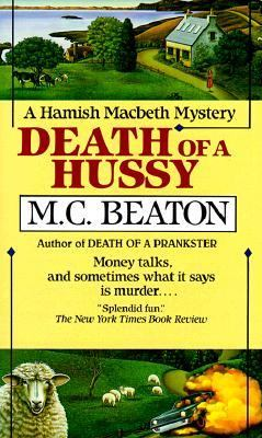 Death of a Hussy B0073XVD1C Book Cover