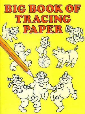 Big Book Of Tracing Paper By Dover Publications Inc