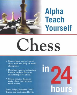 Alpha Teach Yourself Chess In 24 Hours Book By Susan Polgar