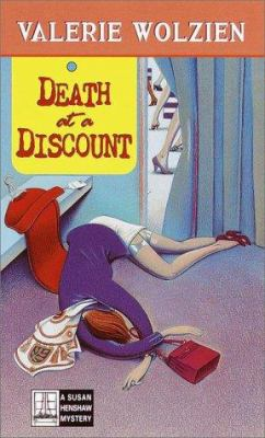 Death at a Discount (Susan Henshaw Mystery, Book 13) - Book #13 of the Susan Henshaw
