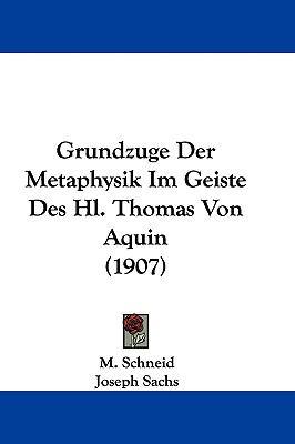 Hardcover Grundzuge der Metaphysik Im Geiste des Hl Thomas Von Aquin Book