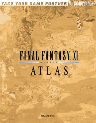 Final Fantasy XI Atlas book by Ed Kern