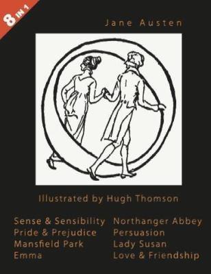 Jane Austen Sense And Sensibility Pride Prejudice Mansfield Park Emma Northanger Abbey Persuasion Lady Susan Love Friendship