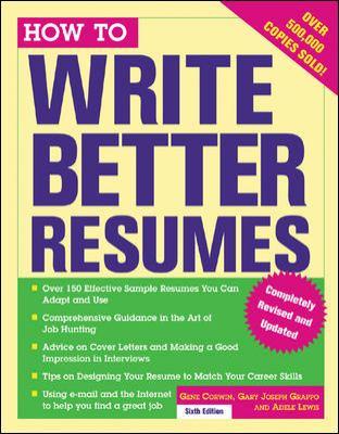 better resumes
