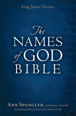 KJV Names of God Bible Mahogany, Hebrew    book by Ann Spangler