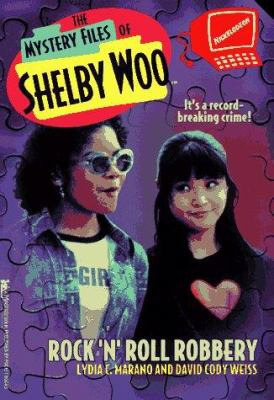 Rock 'n' Roll Robbery (The Mystery Files of Shelby Woo, 4) - Book #4 of the Mystery Files of Shelby Woo