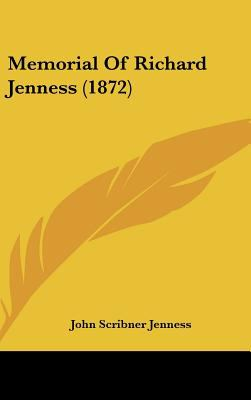 Memorial of Richard Jenness - John Scribner Jenness