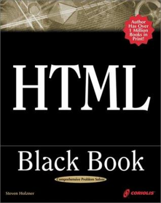 Html Black Book The Programmers By Steven Holzner