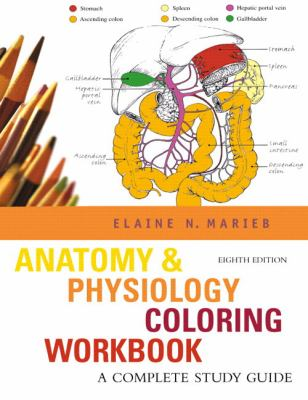 Anatomy Physiology Coloring Book by Elaine N. Marieb