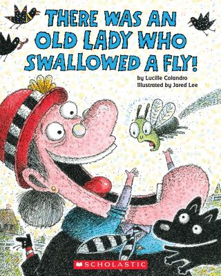 Paperback There Was an Old Lady Who Swallowed a Fly! Book