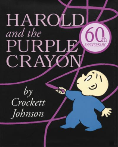 Paperback Harold and the Purple Crayon (Purple Crayon Books) Book