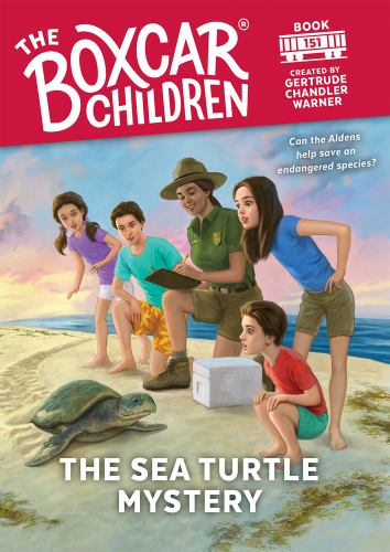 The Sea Turtle Mystery - Book #151 of the Boxcar Children