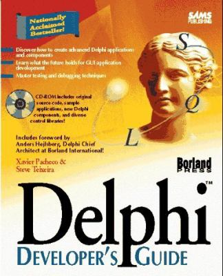 delphi developer s guide book and cd rom by xavier pacheco rh thriftbooks com delphi 6 developer's guide pdf delphi developer's guide to xml 2nd edition pdf