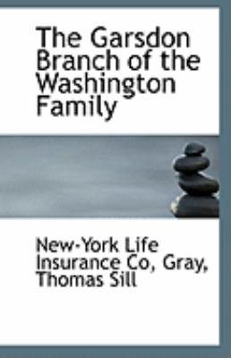 Paperback The Garsdon Branch of the Washington Family Book