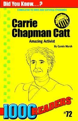 an analysis of the work by carrie chapman catt and the speech the crisis The crisis—carrie chapman catt i have taken for my subject, the crisis, because i believe that a crisis has come in our movement which, if recognized why, we shall all continue to work and our cause will continue to hang, waiting for those who possess a clearer vision and more daring enterprise.