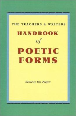 Paperback Handbook of Poetic Forms Book