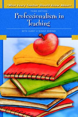 Paperback Professionalism in Teaching Book