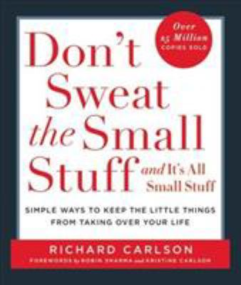 Don't Sweat the Small Stuff - Book  of the Don't Sweat the Small Stuff