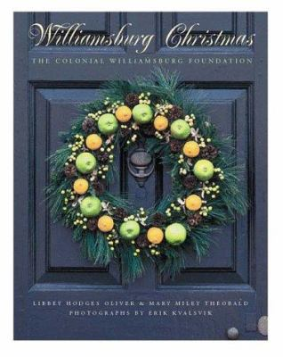 Hardcover Williamsburg Christmas Book