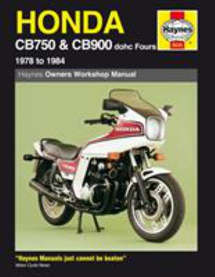 Honda Cb750 Cb900 Dohc Fours 1978 To Book By Chilton Automotive
