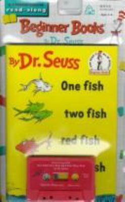 Paperback One Fish, Two Fish, Red Fish, Blue Fish Book and CD [Large Print] Book