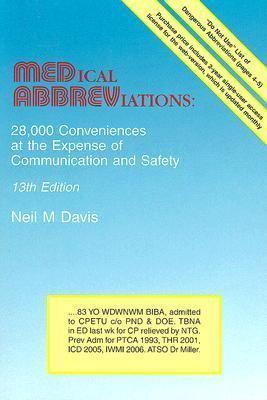 Medical Abbreviations: 28,000    book by Neil M  Davis