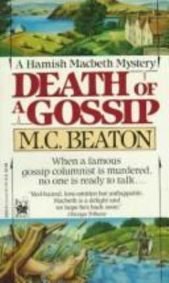 Death of a Gossip (Hamish Macbeth Mysteries, No... 0804102260 Book Cover