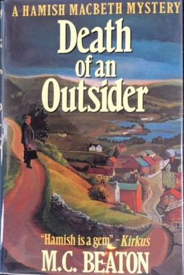 Death of an Outsider (Hamish Macbeth Mysteries,... 0312021887 Book Cover