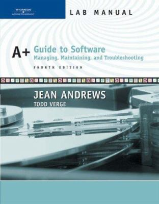 A Guide To Software Book By Jean Andrews