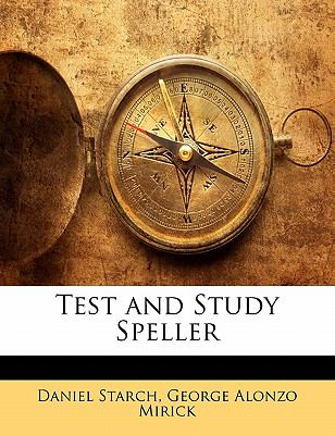 Paperback Test and Study Speller Book