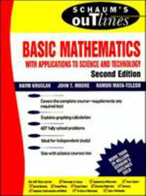 Schaum's Outline of Basic Mathematics    book by John T  Moore