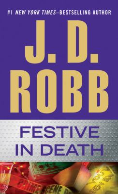 Paperback Festive in Death [Large Print] Book