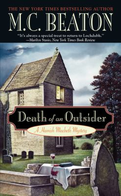 Death of an Outsider (Hamish Macbeth Mysteries,... B0072Q49R0 Book Cover