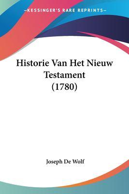 Paperback Historie Van Het Nieuw Testament Book