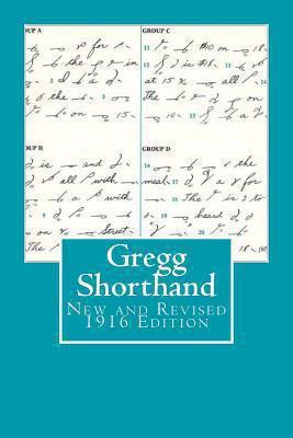 Gregg Shorthand New & Revised 1916    book by John Robert Gregg