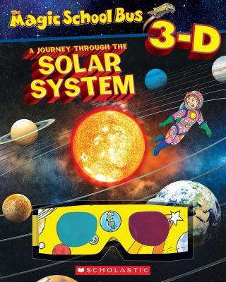 Paperback Magic School Bus 3-D: Journey Through the Solar System Book