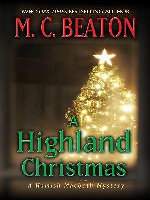 A Highland Christmas (Thorndike Press Large Pri... [Large Print] 1410430243 Book Cover