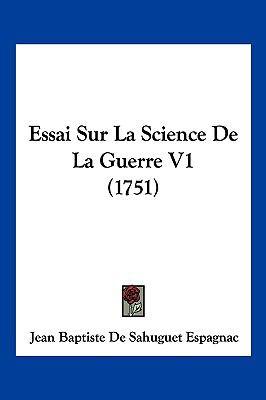 Hardcover Essai Sur la Science de la Guerre V1 Book