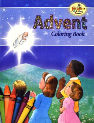 Coloring Book about Advent - Goode, Michael