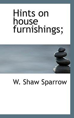 Paperback Hints on House Furnishings; Book