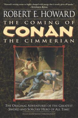 The Coming of Conan the Cimmerian: Book One 0345461517 Book Cover