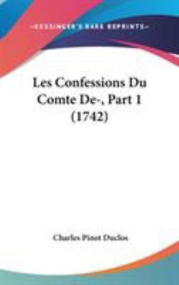 Hardcover Les Confessions du Comte de-, Part Book