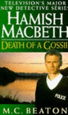 Death of a Gossip (Hamish Macbeth Mysteries, No... 0553407910 Book Cover