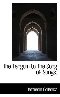 Paperback The Targum to the Song of Songs Book