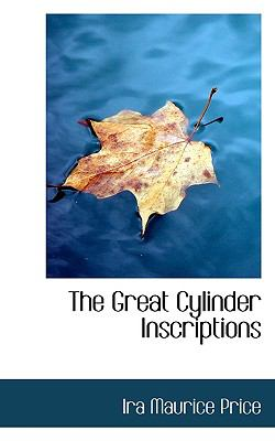 Paperback The Great Cylinder Inscriptions Book