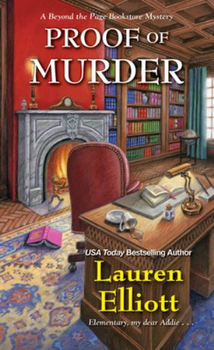 Proof of Murder - Book #4 of the Beyond the Page Bookstore Mystery