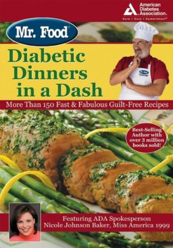 Mr food diabetic dinners in a dash book by art ginsburg mr food diabetic dinners in a dash more forumfinder Image collections