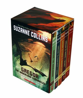 Gregor the Overlander Boxed Set #1-5 - Book  of the Underland Chronicles