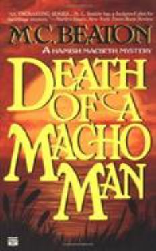 Death of a Macho Man B0073N621I Book Cover