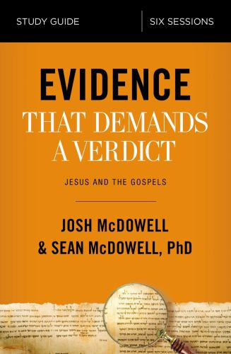 Paperback Evidence That Demands a Verdict Study Guide : Life-Changing Truth for a Skeptical World Book